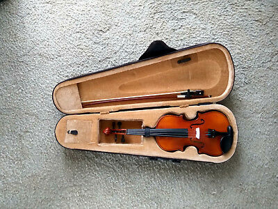 Brillant Student Violin 1/4 with Hard Case & Bow - Great Condition (RRP: $229)