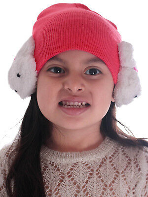 9712f139 Cute Warm Hat Winter Baby Toddler Girls Boys Earflap Knitted Beanie Hat Cap