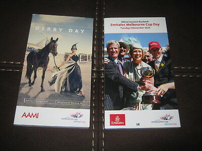 Melbourne Cup + Derby Day Race Book 2014 / Gai Fiorente Damien Oliver On Cover