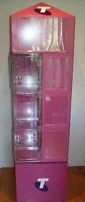 Small item display cabinet - in unusual condition