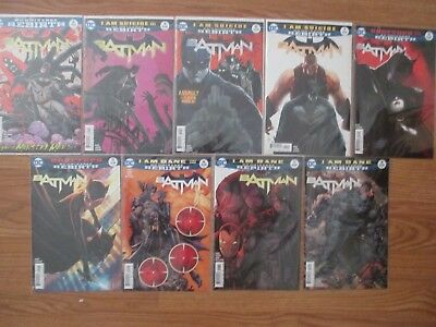 Batman Comics Bundle (Issues: 8,9,10,11,14,15,16,17,18)