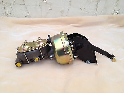 "Mopar 7"" power brake booster with brackets &  master cylinder NEW warranty"