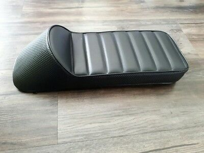 Lambretta Racing Seat. NEW. Black Suits Series 2 or 3.