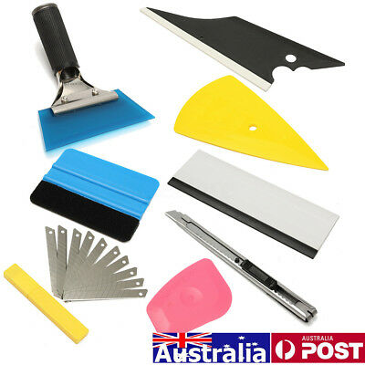 8IN1 Professional Window Tinting Tint Film Tools Kit Auto Car Home Application