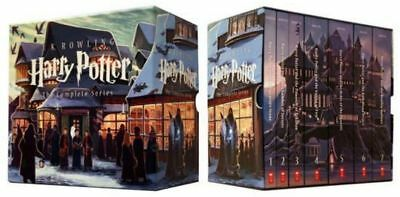 Harry Potter Paperback Box Set by J. K. Rowling (2013, Paperback, Special)