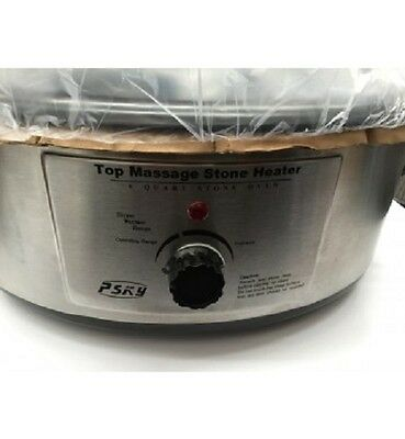 Heater Warmer Pot Massage Stone Therapy Hot Stones Salon Professional Beauty