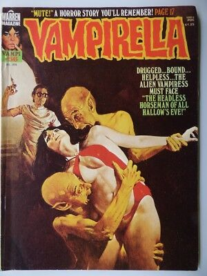 VAMPIRELLA #56 VF/NM ~ WARREN Dec 1976 ~  High Grade Bronze age Horror/Fantasy!