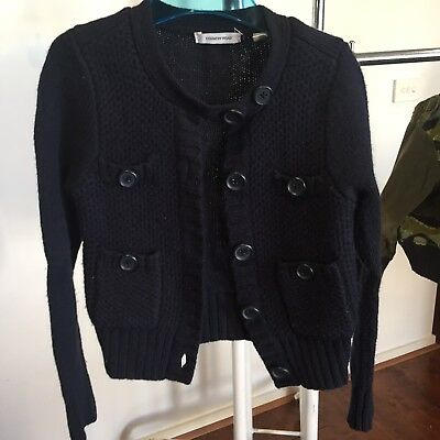 Country Road Girls Dark Blue Wool Jumper/Cardigan