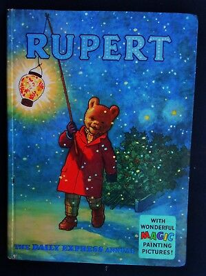 Vintage Original 1960 Rupert Bear Annual, Price Unclipped 5/-