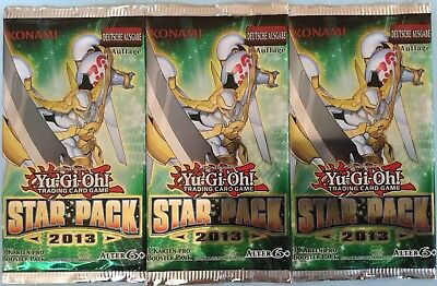 Yugioh - 9 Booster Star Pack  2013  1.Auflage deutsch NEU/OVP