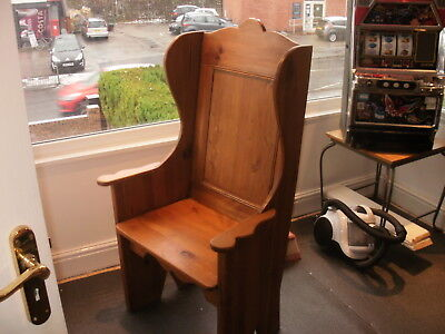 Reclaimed Pine reproduction style lambing chair