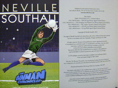 The Binman Chronicles Neville Southall Hb 2015 includes signed comic Everton FC