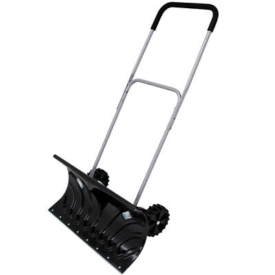 Snow pusher on Wheels / Snow shovel . With Aluminium Handle