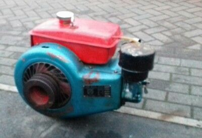 Single cylinder diesel stationary engine parts project spares repairs reuse
