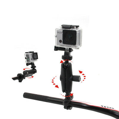 NSTAR Bike Handlebar Mount for Go Pro, SJCAM, XIAOYIMI and Other Action Cameras