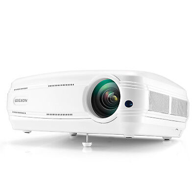 Gigxon G58 3200 lumens Portable 1080p Home Theater Projector LED HD Outdoor and