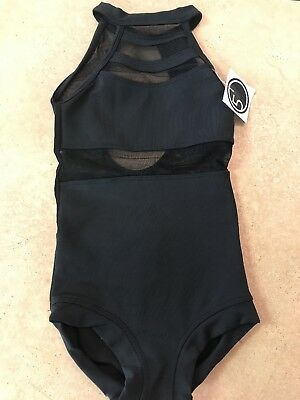 Co 5 Five Dancewear Leo Black Amore Leo YM/YL