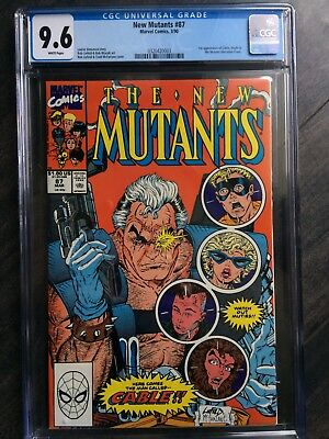 New Mutants 87 CGC 9.6 Cable's 1st Appearance -Amazing Copy