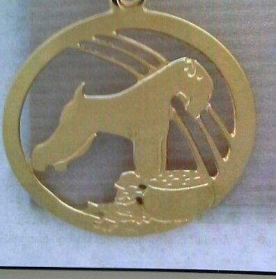 SOFT COATED Wheaten Terrier  Jewelry pin by Touchstone gold plated new BEAUTIFUL