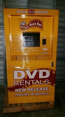 DVD, Blu-ray Rental Kiosk FULLY LOADED with over 500 Titles!! Must sell!