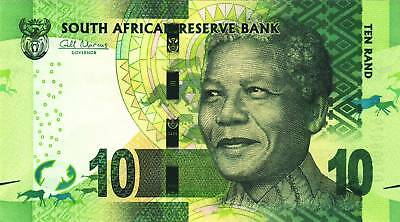 South African Bank Notes - R10 - NELSON MANDELA