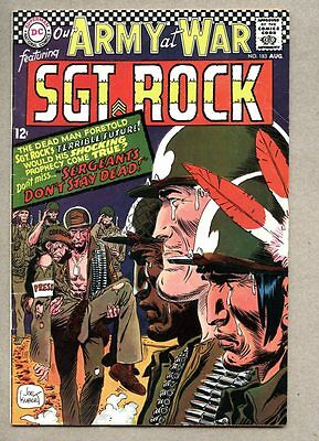 Our Army At War #183-1967 vg+ Sgt. Rock Neal Adams