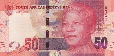 South African Bank Notes - R50 - NELSON MANDELA
