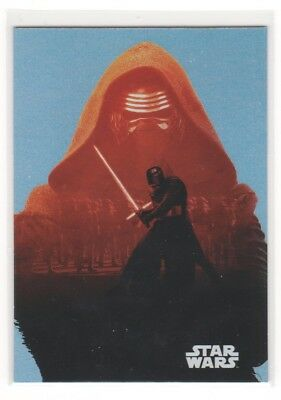 2016 Topps Star Wars Journey To The Force Awakens Foil #f5 Kylo Ren