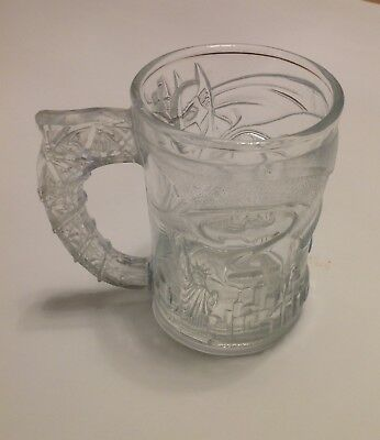 McDonalds Batman Forever DC Comics Collectable Drinking Glass