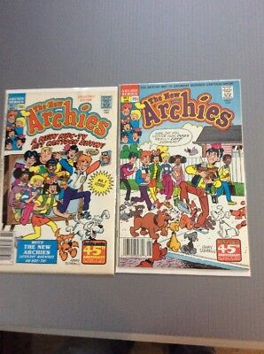 The New Archie's #1 & 2 SET  Free Shipping  BIG SALE ON COMICS NOW