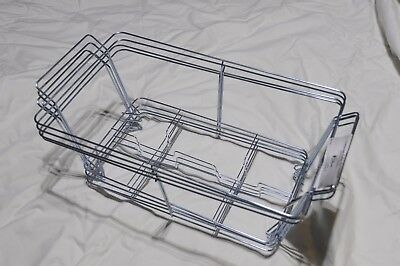 """Sterno Chafing Dish Wire Rack 22.5"""" L x 12.5"""" W x 9.5"""" H Set of 4 NEW"""