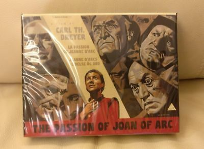 Carl Th. Dreyer: The Passion of Joan of Arc - ultra rare blu rare box set - NEW