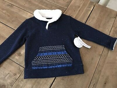 Koalakids Warm Blue Pullover Sweater - Size 5T NEW WITH TAGS!