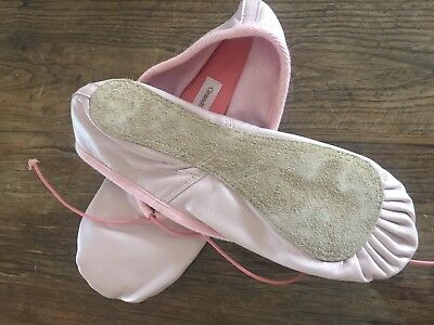 Pink Leather Ballet Flats - Ladies Size 11 42 - Brand New
