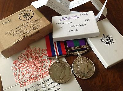 British medals set: General Service Medal