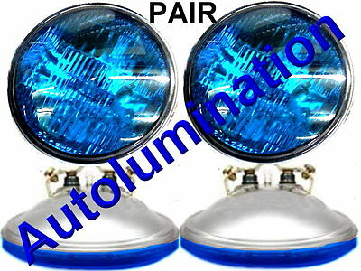 New 4416-B Blue 12 Volt Par36 Sealed Beam Bulb 4416ST-Blue Spotlight 4-1/2 4416