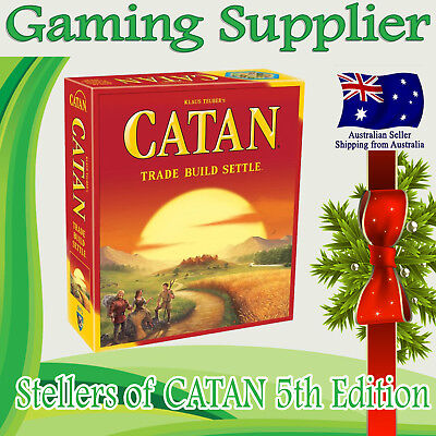 Brand new Settlers of Catan 5th edition Family Board Game Core Set