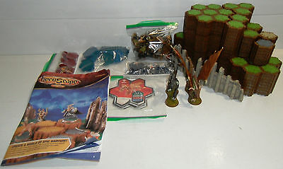 HEROSCAPE Master Set RISE OF THE VALKYRIE 100% Complete INVENTORIED Base Starter