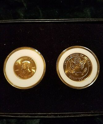 Rare John F Kennedy and The Great Seal coin set
