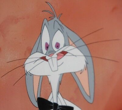 Warner Bros Bugs Bunny Original Production Cell from CARROTBLANCA 1 of 1