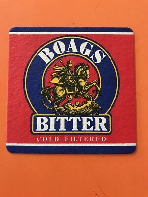 Boags Bitter, Cold Filtered, BEER COASTER