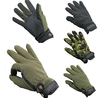 Sports Gloves Men Full Anti-slip Protective Bicycle Mountain Riding Finger NEW