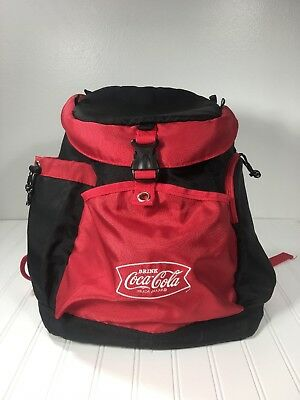 Coca-Cola Cooler Backpack Insulated Festival Logo Chairs