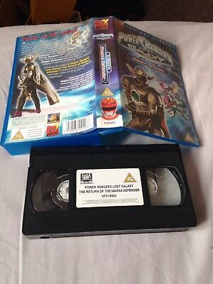 VHS - Power Rangers - Lost Galaxy - The Power of Teamwork ...Power Rangers Lost Galaxy Magna Defender Vhs