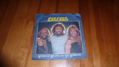 """7"""" Bee Gees - Someone belonging to someone"""