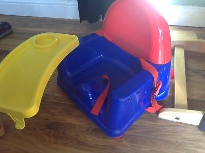 Baby Booster Seat With Tray