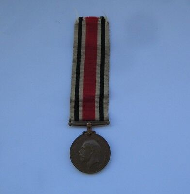 King George V' Special Constabulary Long Service Medal,Named : ALBERT E.GREGORY