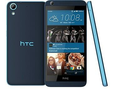 New HTC Desire 626 Blue Android 5 Inch 4G 13MP Wifi GPS Unlocked 8GB Smartphone
