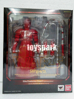 S.H. figuarts Star Wars The Last Jedi ELITE PRAETORIAN GUARD with Heavy blade