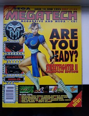 Sega Megatech Magazine Mega Drive Mega CD Issue 18 June 1993